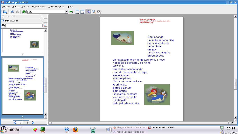 Scribus pdf