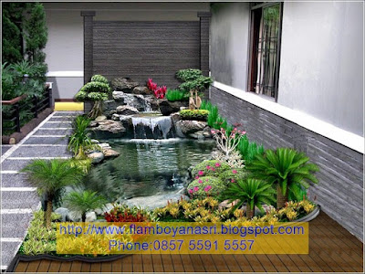 Tukang Taman Surabaya Desain Kolam rumah