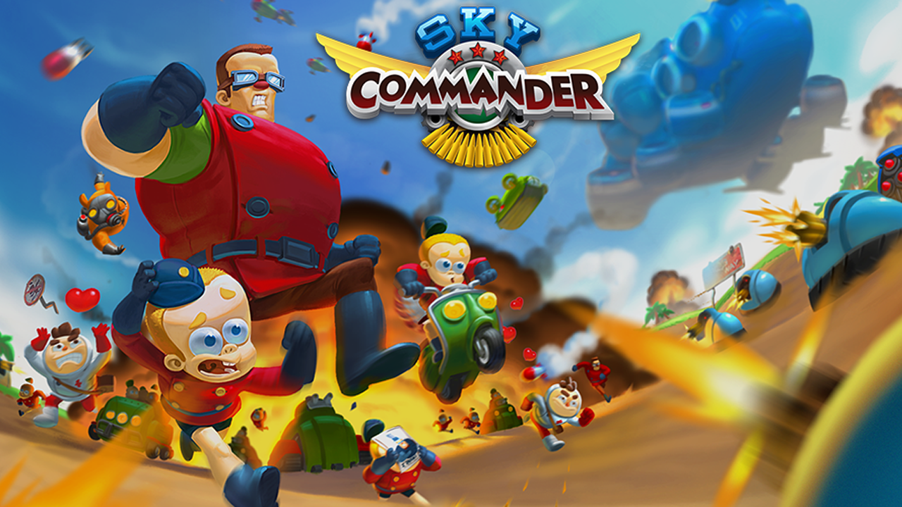 Sky Commander Gameplay IOS / Android