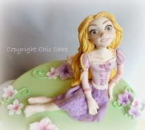Torta Decorata Rapunzel