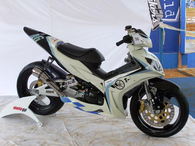 Modifikasi Jupiter Mx Motogp