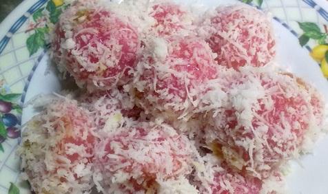 Resep kue klepon warna warni