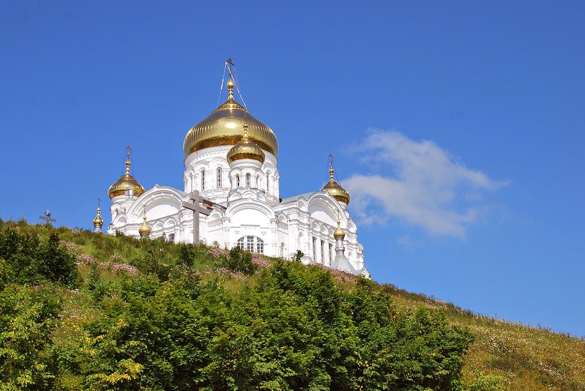 Белая гора - монастырь