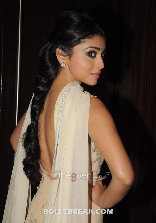 Shriya Saran In Backless Suit  -  Shriya Saran In Backless Suit at Blockbuster Magazine Launch