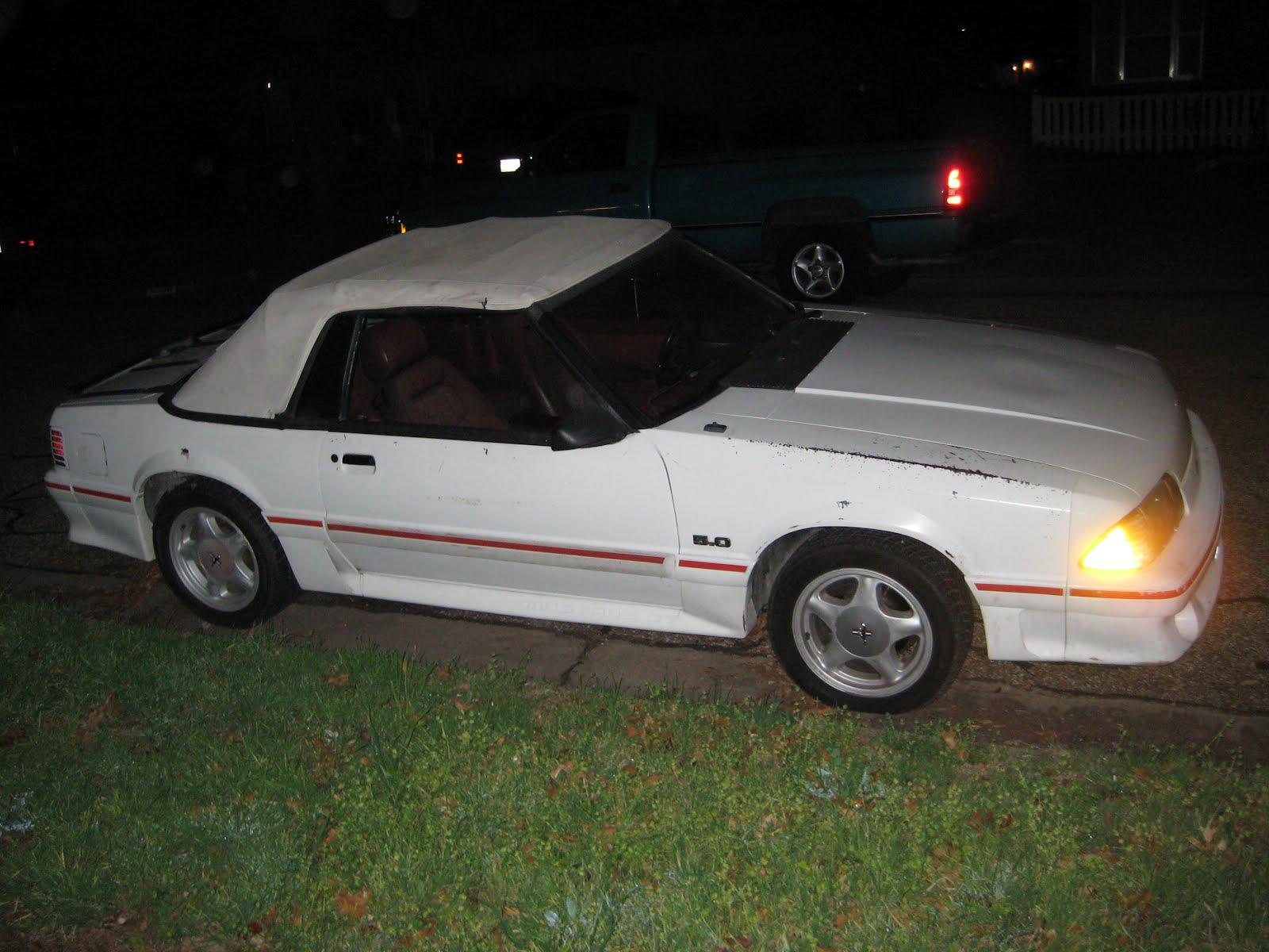 Whiteboy S Mustangs 1987 Mustang Vanilla Ice 5 0 Gt Vert