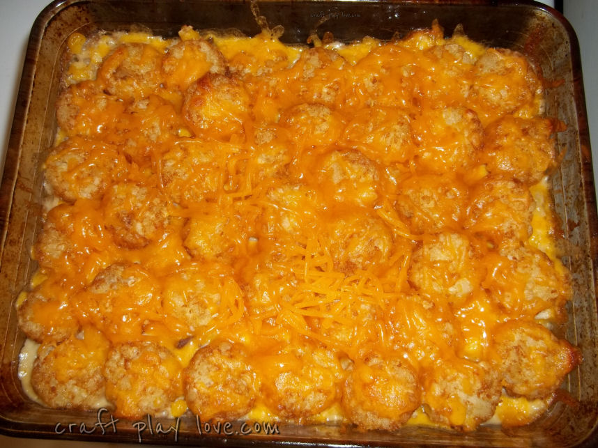 Cowboy Casserole - Here's How to Dress up Your Tater Tots ...