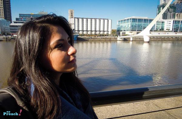 argentina - Buenos Aires: Puerto Madero -  Puente de la Mujer