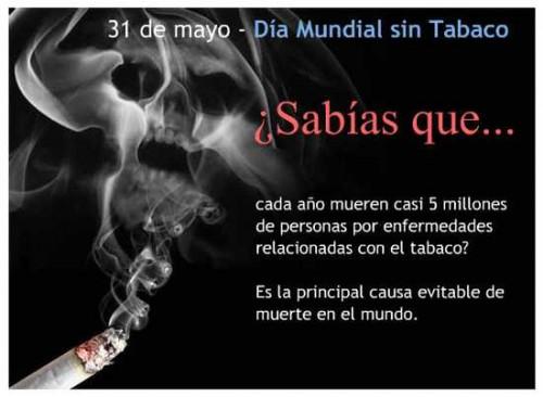 EL TABACO CAUSA 2300 MUERTES AL AÑO EN ASTURIAS