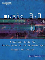 Music 3.0 book cover image from Bobby Owsinski's Big Picture blog