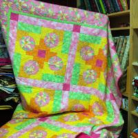 handmade fairy quilt