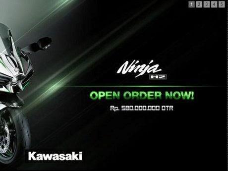 Harga Kawasaki Ninja H2 Rp 580.000.000 Cuma Ada 20 Unit Di Indonesia