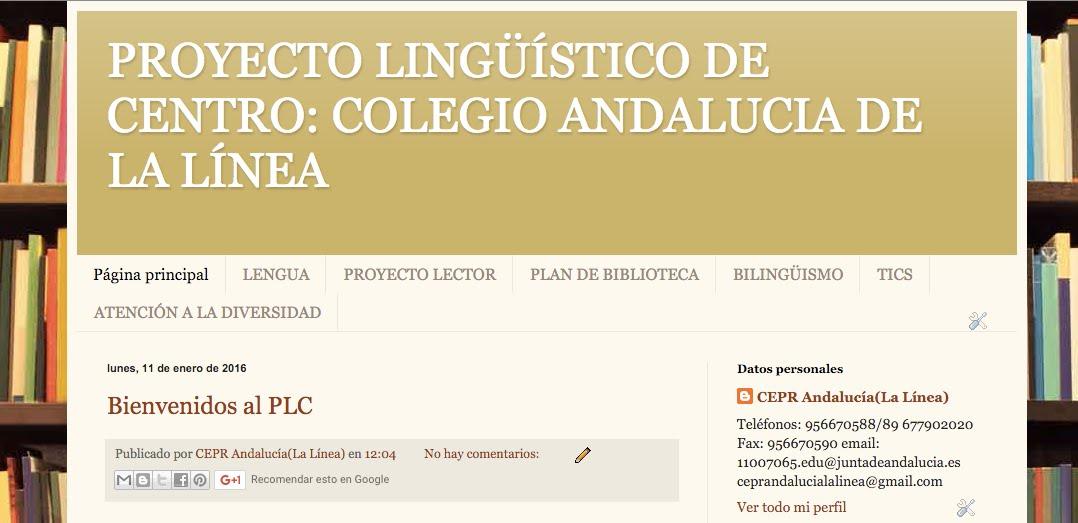 PLC Colegio Andalucía