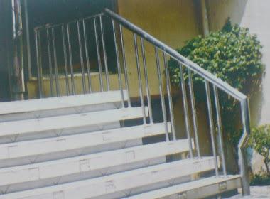 Reilling tangga / pagar stainlees steel