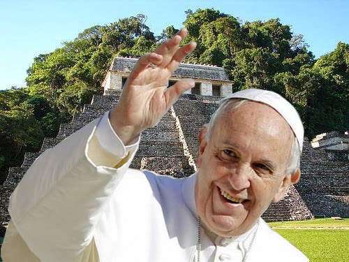 El Papa Francisco en México, febrero 2016