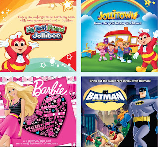 Jollibee party themes