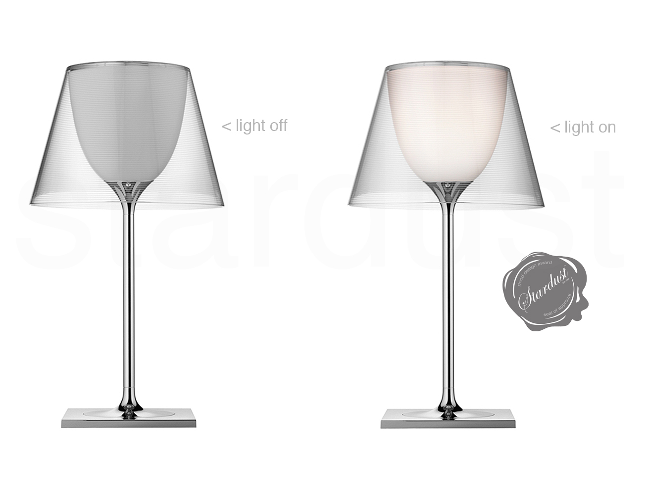 original ktribe t classic flos glass table lamp by. Black Bedroom Furniture Sets. Home Design Ideas