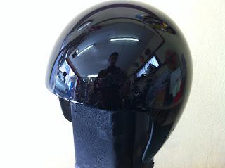 507608066 - カスタムペイント工程  ジェットヘルメット スカル クリアースピニング