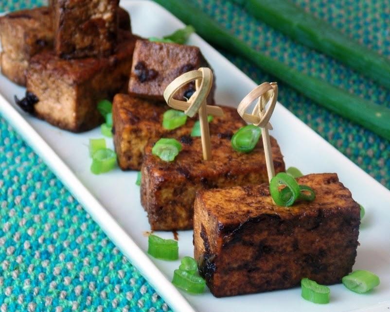Tofu Apimentado (vegana)