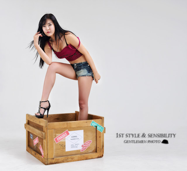 4 Yook Ji Hye - Your Package Just Arrived-Very cute asian girl - girlcute4u.blogspot.com