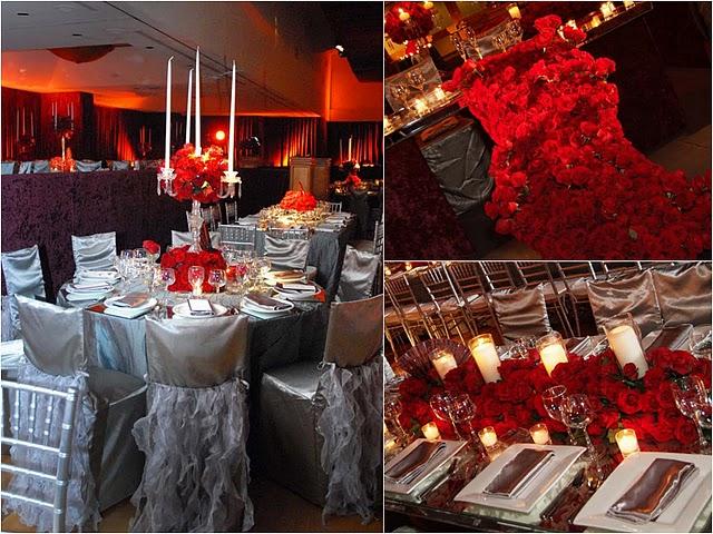 Party boutique canc n rojo el color del amor y la pasi n - Decoraciones en color plata ...
