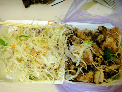Salad Dressing Fried Chicken Gongguan Night Market