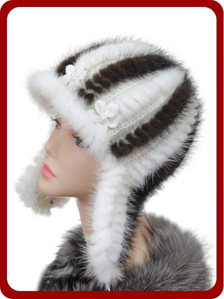 Вязание шапок из меха своими руками