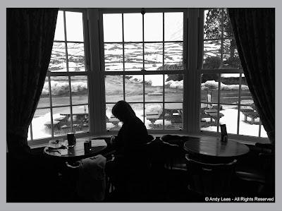 Cluanie Inn, situated in the remote Glen Shiel