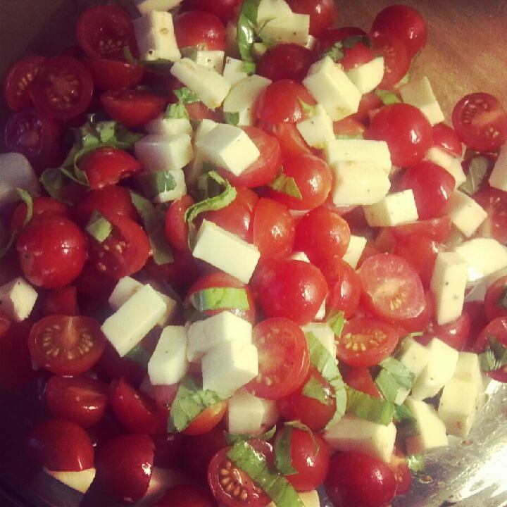 Caprese Salad for a Crowd