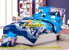 Harga Sprei Katun Jaxine Frozen Blue 90x200x20 Jual