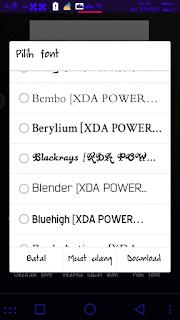 Cara Mengganti Font Asus Zenfone 5 Lollipop 40.78 Tanpa Root