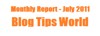 monthly report blogging , monthly income and traffic report, report blogging