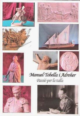 Portada del estuche del DVD sobre Manuel Tobella i Adroher