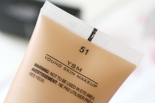 Inglot YSM Cream Foundation in shade 51 review