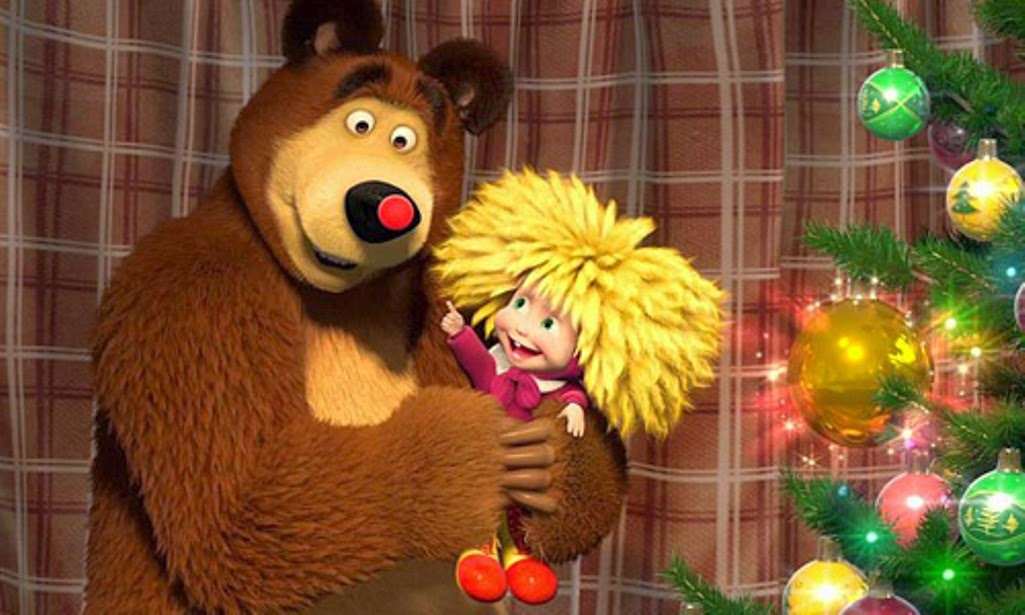 Foto Lucu Kartun Masha And The Bear Terbaru
