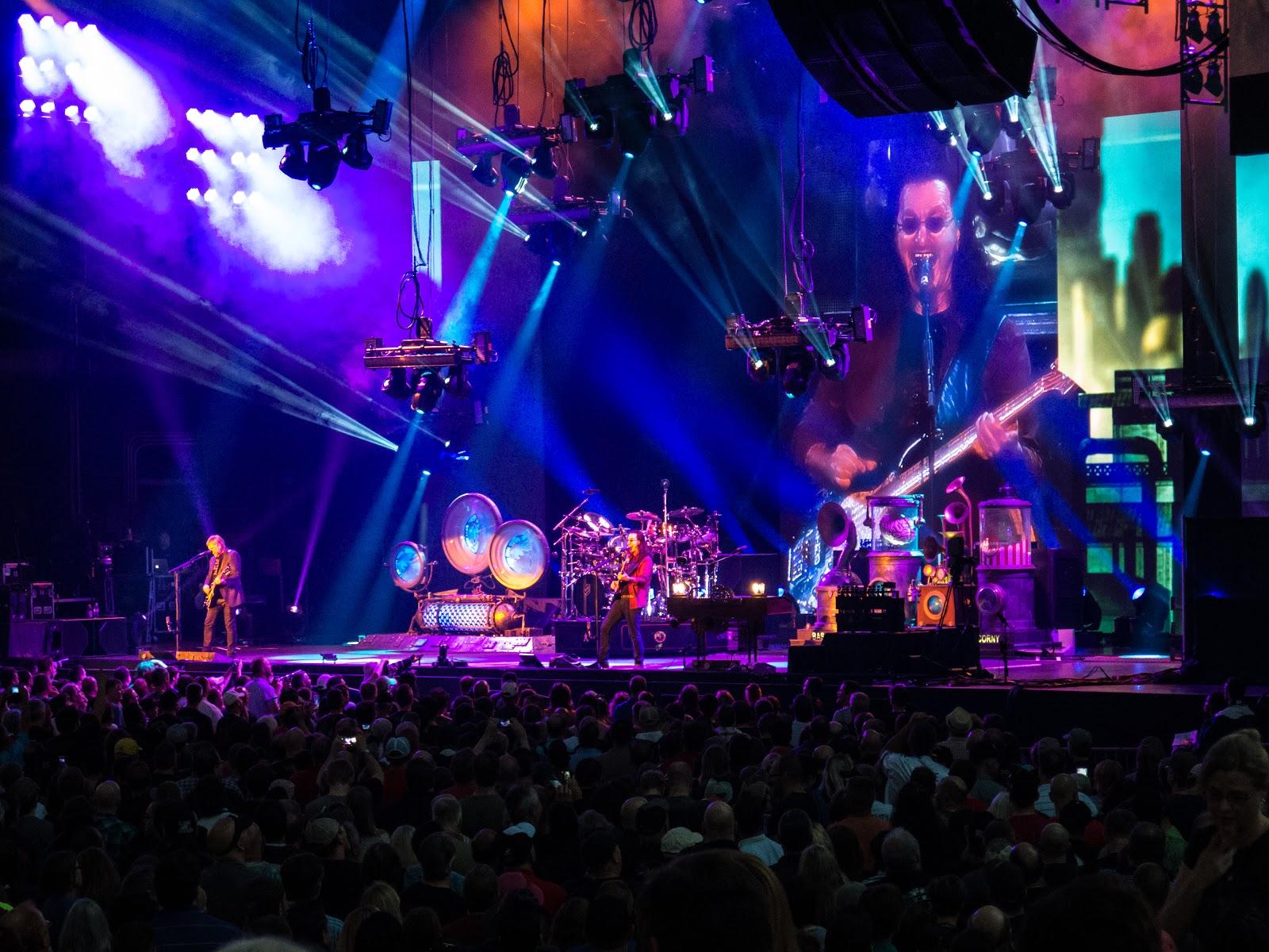 Rush Live Wallpaper Larger Than Life