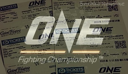 ONE FC Ticket Giveaway Contest
