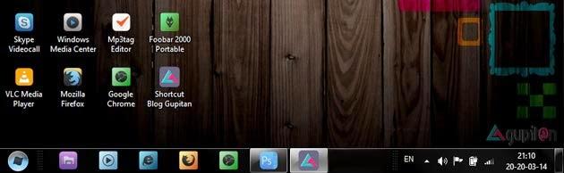 Cara Mengubah Icon Taskbar Menu pada Windows 7
