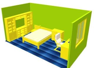 desain sederhana kamar tidur