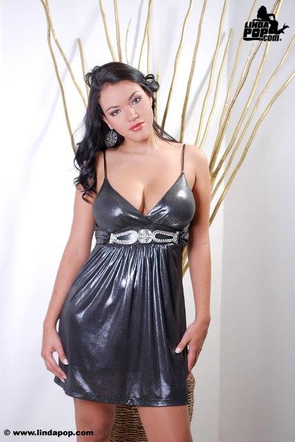 Lina Elizalde Vestido Y Tanga