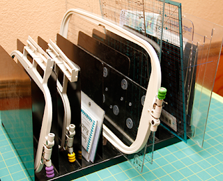 Machine Embroidery Hoop Storage