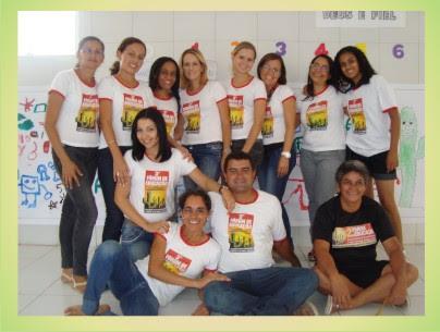 Professores de Angico - Escola Antonila da França Cardoso