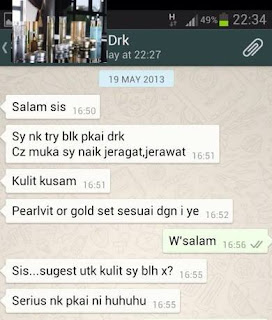 PERMINTAAN PRODUCT DrK SKINCARE