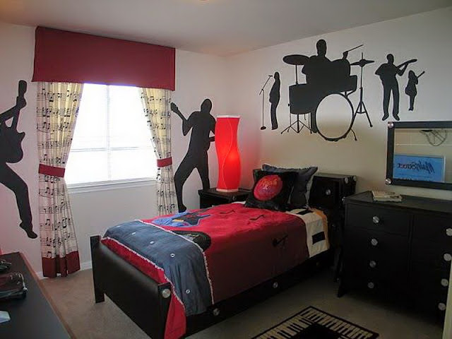 Rock N Roll Home Design Part - 48: Rock N Roll Bedroom Decor