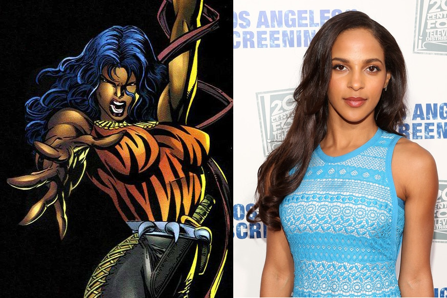 Megalyn Echikunwoke House Of Lies Upcoming Marvel Cinema...