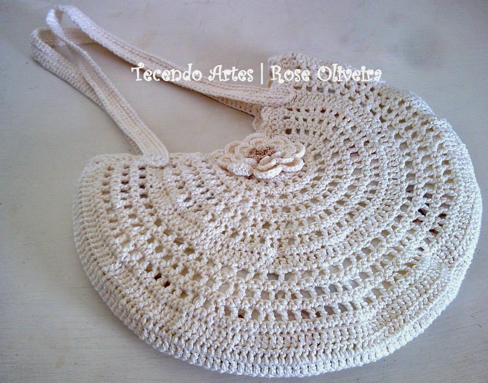 Bolsa De Festa Em Croche Passo A Passo : Arte em croch? tric? e artesanatos bolsa croch? super