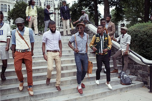 I Love The Men In Old School Fashion Sporting Some Of Vintage Clothing Scenary Also Compliments Look With Their College Boy Theme