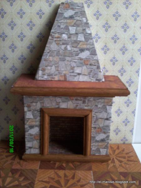 El mundo de las manualidades y la artesan a tutorial de - Como hacer chimeneas decorativas ...
