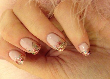 Glitter-Rosé