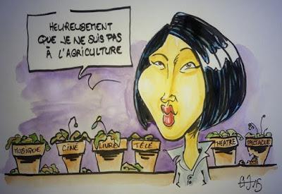 Fleur Pellerin, ministre de l'aculture... - Guillaume Néel ©