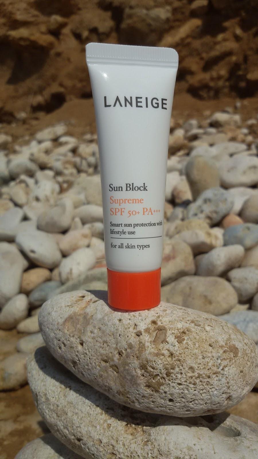 "Laneige Sun Block Supreme SPF 50+ PA+++: легкий крем - ""тяжелая"" защита"